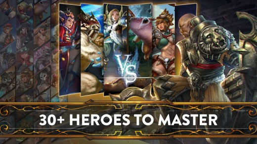 30 + Heroes for you to Master