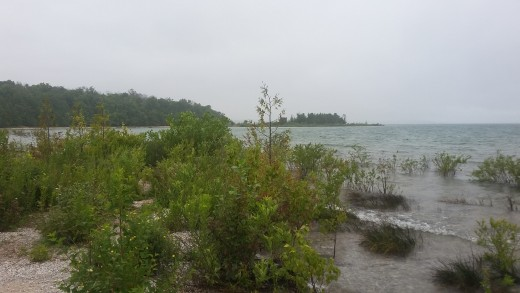 Beaches at Grand Traverse Lighthouse