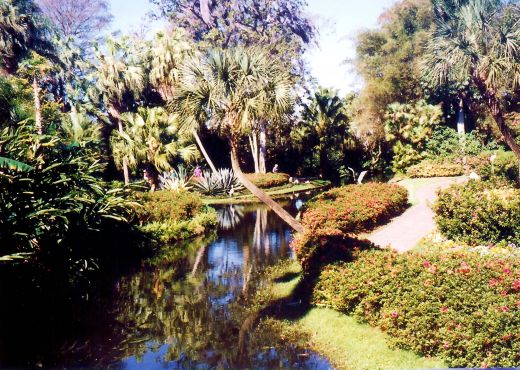 One view prettier than the next at Cypress Gardens!