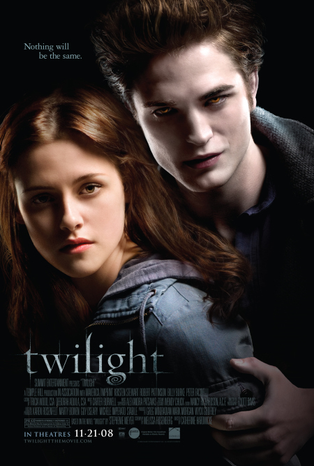 Bella and Edward on the cover