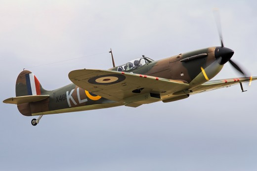 Spitfire used in the movie, DUNKIRK