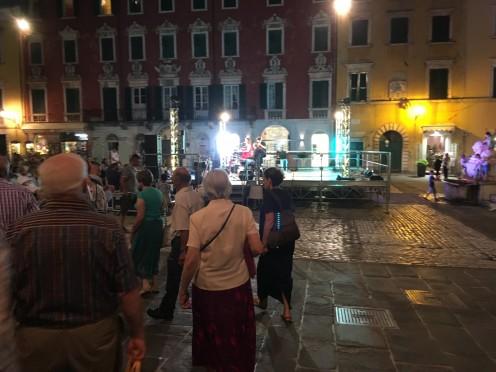 Carrara Estate - concert in Piazza Alberica