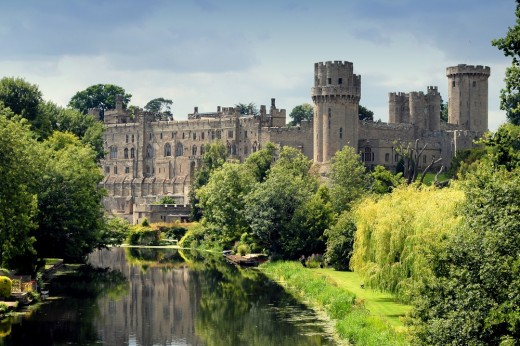 Warwick Castle - exceptionally well preserved