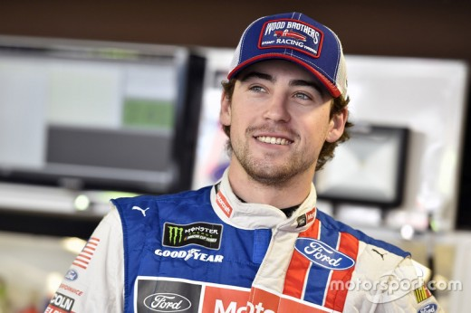 Ryan Blaney #21 for Woods Bros. and Penske team. Son of former Nascar driver, Dave Blaney. Watch out for this young driver.