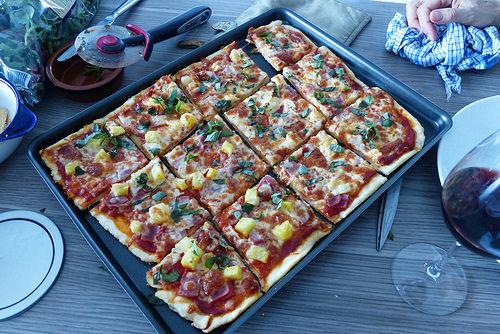 Square Pizza like I make