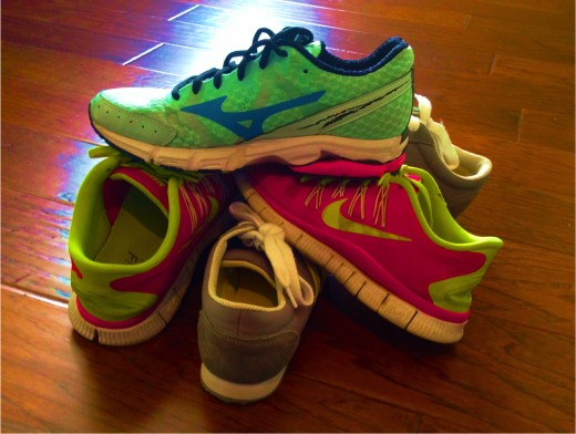 Great running shoes can speed up your progress.