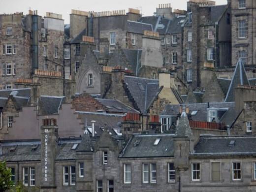 Edinburgh Old Town and Grassmarket