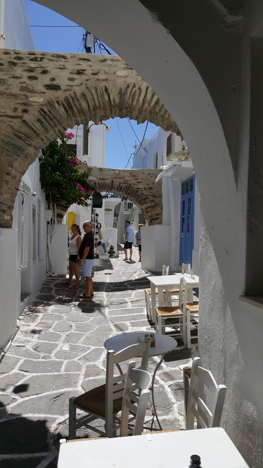Narrow Street in Naoussa