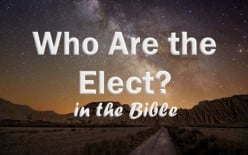 Who Are The Elect? (8/9/2017, Message#89)