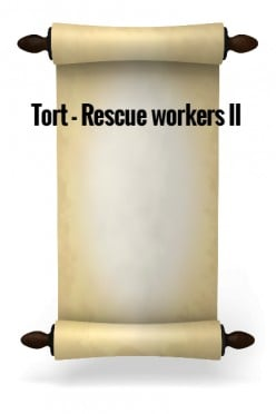 Tort - Rescue Workers II