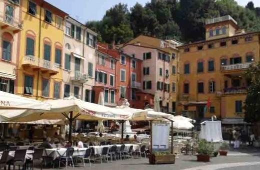 Dining Al fresco in Lerici