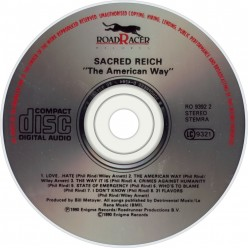 Review: the album called The American Way by Sacred Reich