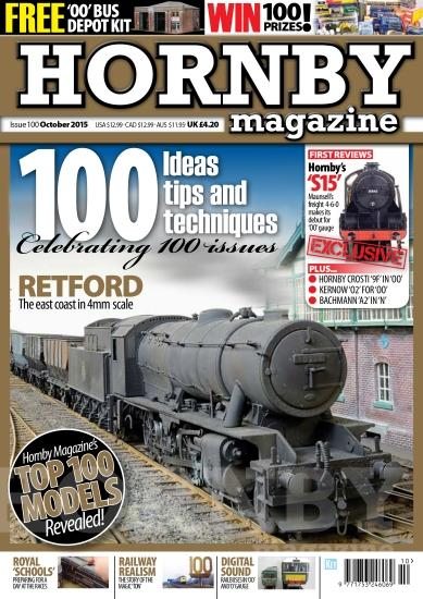 For ideas on modelling railways, Hornby Magazine takes a close look at various aspects of motive power, freight and passenger stock as well as controls and an all-round view of modelling