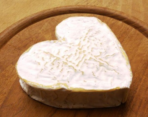 Neufchatel is a soft, crumbly table cheese.