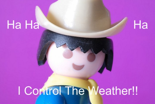 Texas, controlling the weather