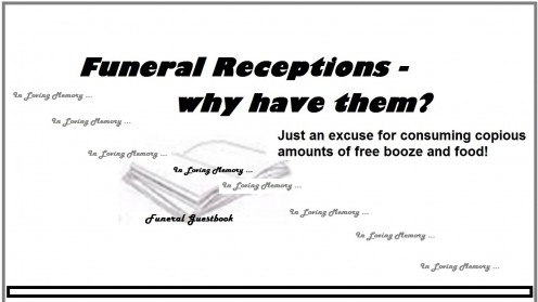 7 Reasons to Have a Funeral Reception