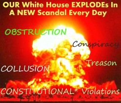 "Mr. Trump Could Be IMPEACHED Now 4 ""Various CRIMEs"" ~ What R Congressional Republicans WAITING 4?"