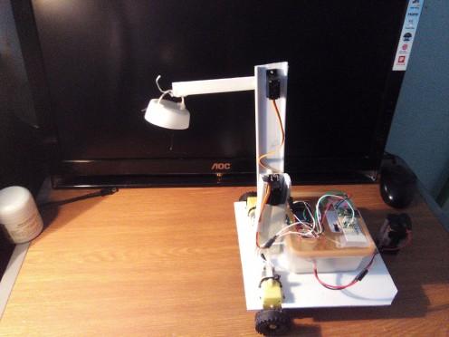 Robot lifting an object