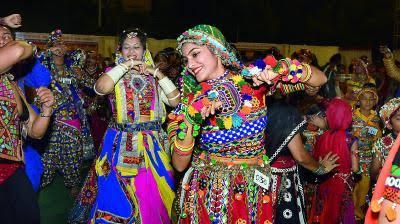 Traditional Navratri dance