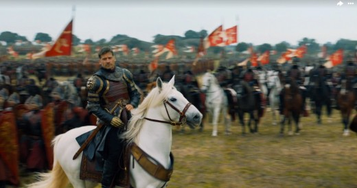 Does Jaime belong on a white stallion?