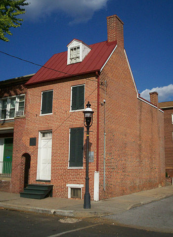Edgar Allan Poe's last residence in Baltimore, MD is said to be haunted by multiple ghosts. Are one of those ghosts Poe?