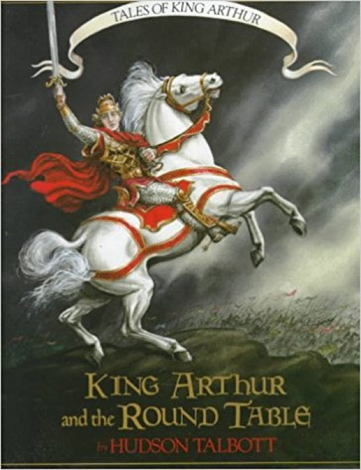 Tales of King Arthur: King Arthur and the Round Table (Books of Wonder) by Hudson Talbott - Book image is from amazon.com.