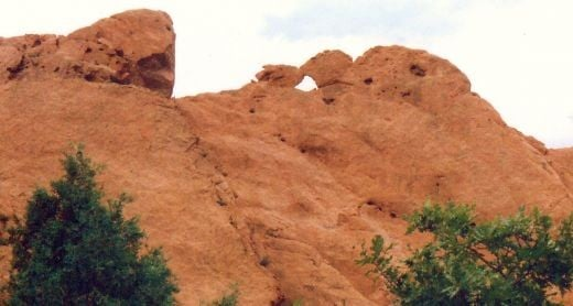The Kissing Camels in the Garden of the Gods