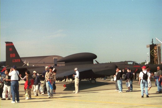 A U-2 at Andrews AFB, MD.