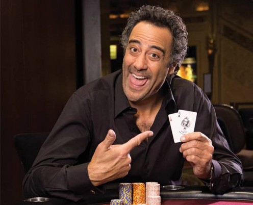 Did he really have pocket aces?  Only Brad Garrett knows for sure.