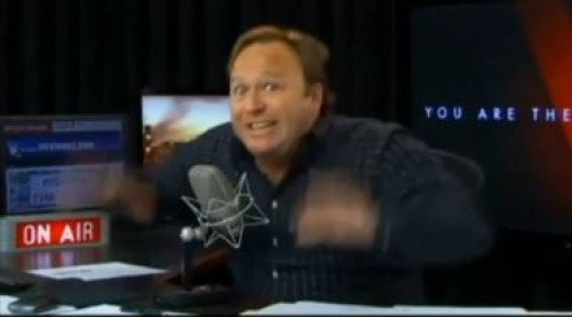 Infowars' Alex Jones in a flap about aliens