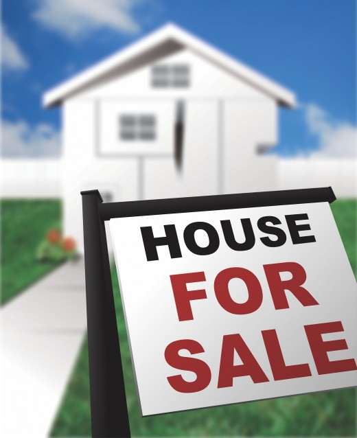 Property buying and selling between real estate broker and a client.