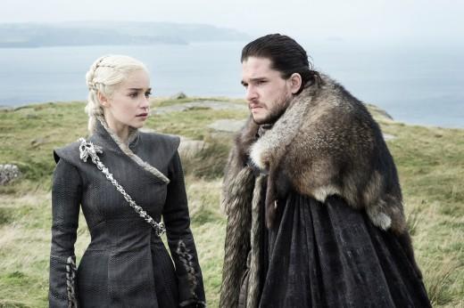 Daenerys and Jon in Eastwatch