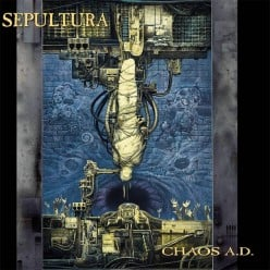 "Review:Sepultura's ""Chaos AD"" the good follow-up album to Arise"