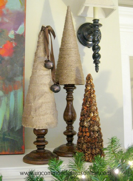 Awesome Rustic Christmas Craft Ideas Part - 13: Although The Rustic Style Of Crafts Includes Items That Are Used All Year  Round, At Christmas Time The Rustic Style Finds Its Way Into Many Homes, ...