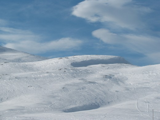 Vast Snowscape