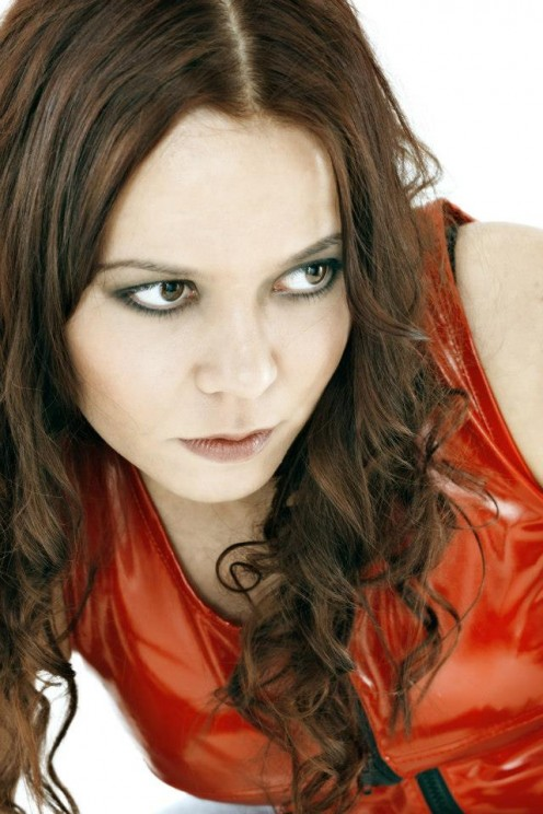 Tanja Lainio joined Lullacry in 2002 following the departure of original vocalist Tanya Kemppainen due to musical differences. I will put Tanja on my list of my five favorite female metal vocalists.