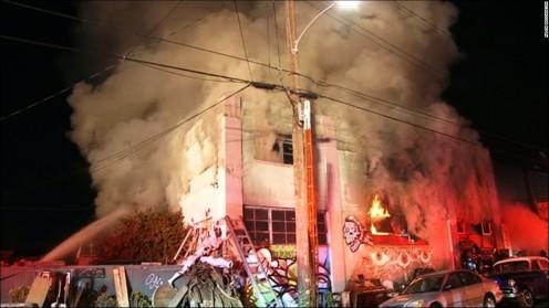 Oakland fire, December 2016