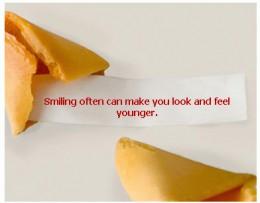 fortune cookies...