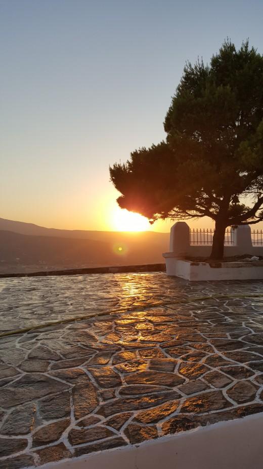 Sunset on Agios Antonios