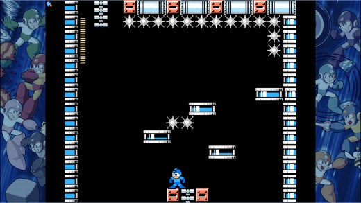 traps like this is why I hate Mega Man 9. How the hell am I suppose to get past this screen without dying. Im playing Mega Man not freaking Battletoads.