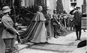 """A picture taken use by Cornwall  for his book """"Hitler's Pope""""  The picture had nothing to do with Nazi Germany or Hitler.  It was taken much earlier than believed by critics."""