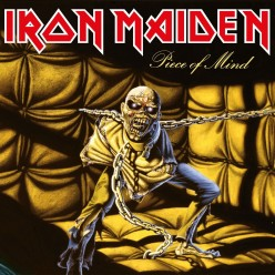 "Review: ""Piece of Mind"" by British heavy metal band Iron Maiden"