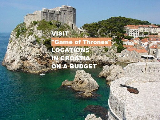 Dubrovnik, the real location of King's Landing