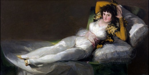 The Clothed Maja by Goya