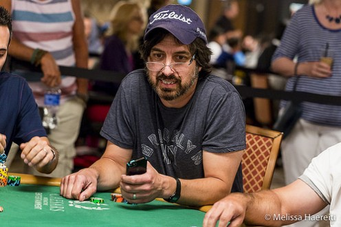 Both Garrett and Ray Romano played in the 2015 World Series of Poker in Las Vegas.