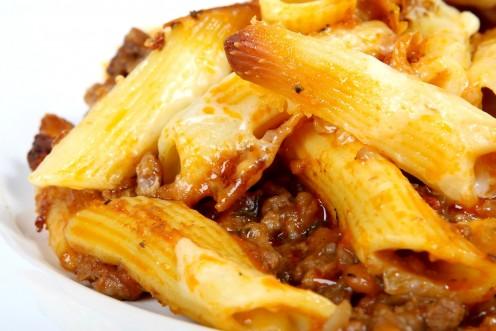 Carb Diva's Chili Macaroni Casserole