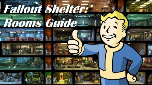 Fallout Shelter Rooms Guide