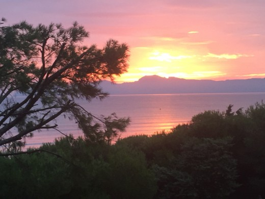 Sunset over Playa de Muro