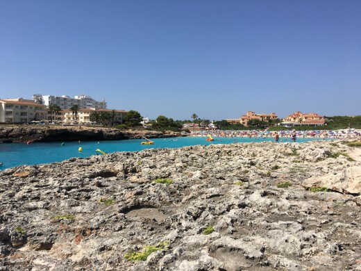 Typical sea view in Menorca