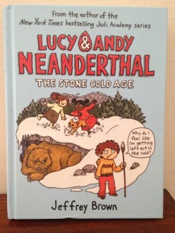 Neanderthal Siblings Lucy and Andy Return in Jeffrey Brown's New Fact/Fiction Adventures in the Cold